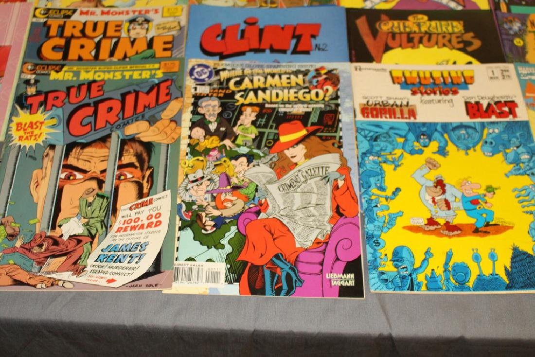 54 comics, various #1's & others, wide variety - 5