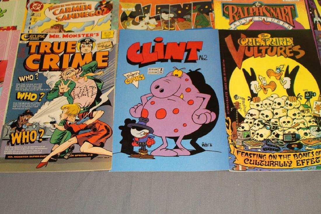 54 comics, various #1's & others, wide variety - 6