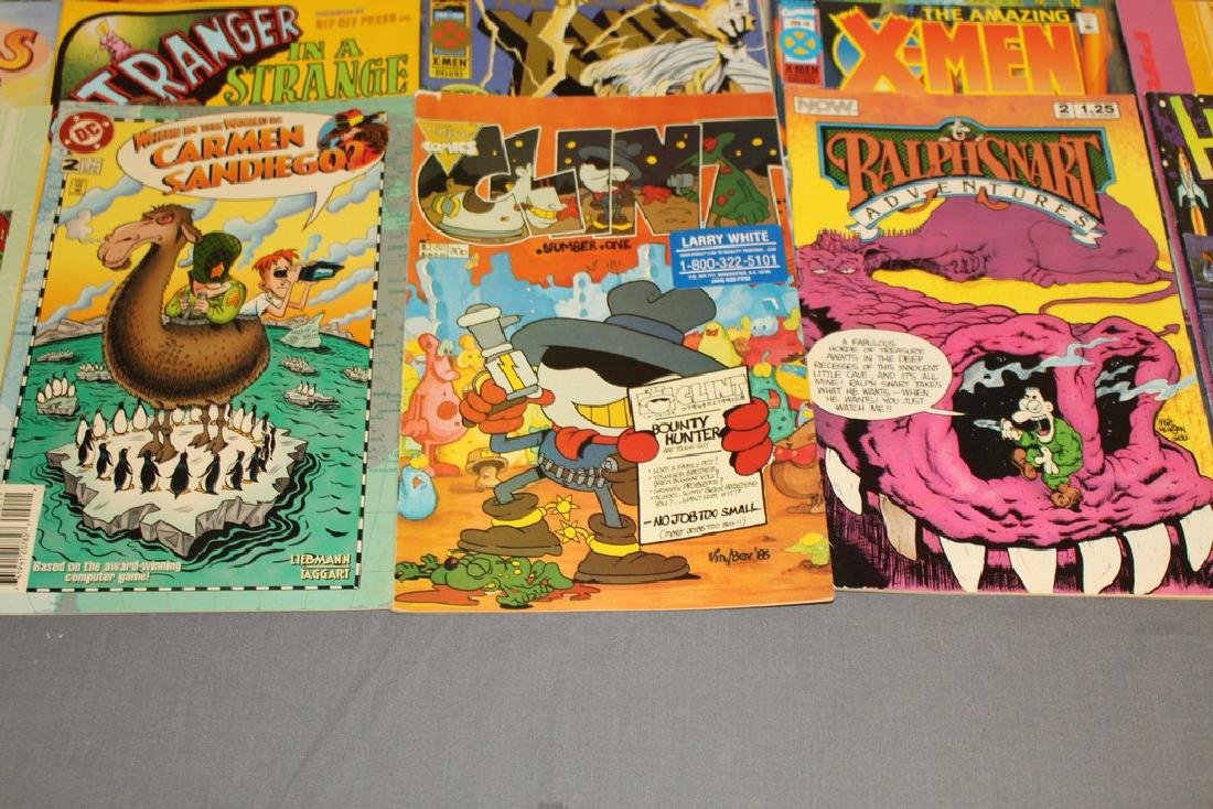 54 comics, various #1's & others, wide variety - 8