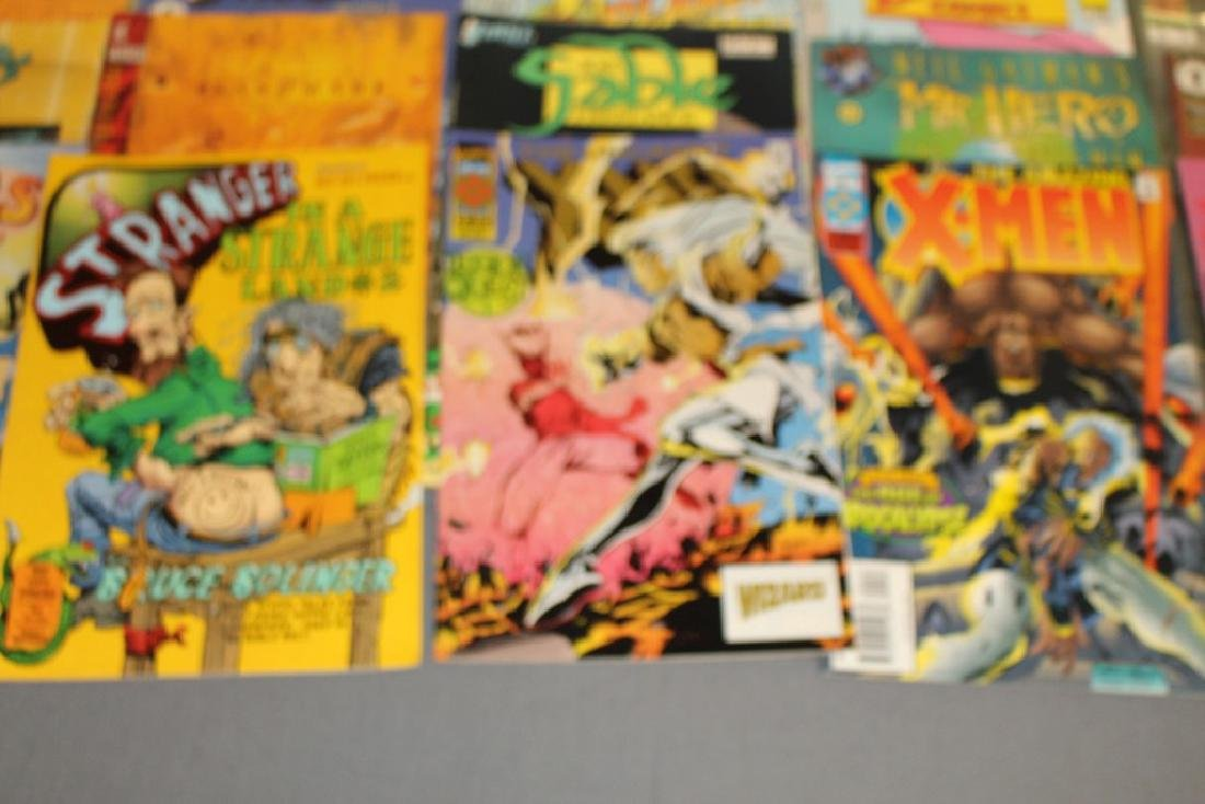 54 comics, various #1's & others, wide variety - 9