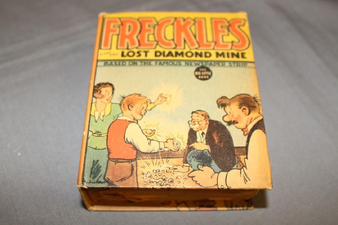 Freckles & the Lost Diamond Mine