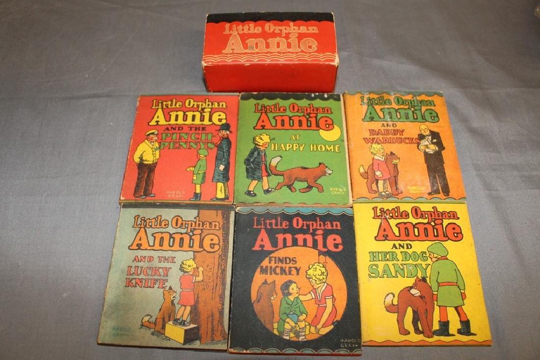 set of 6 Little Orphan Anne
