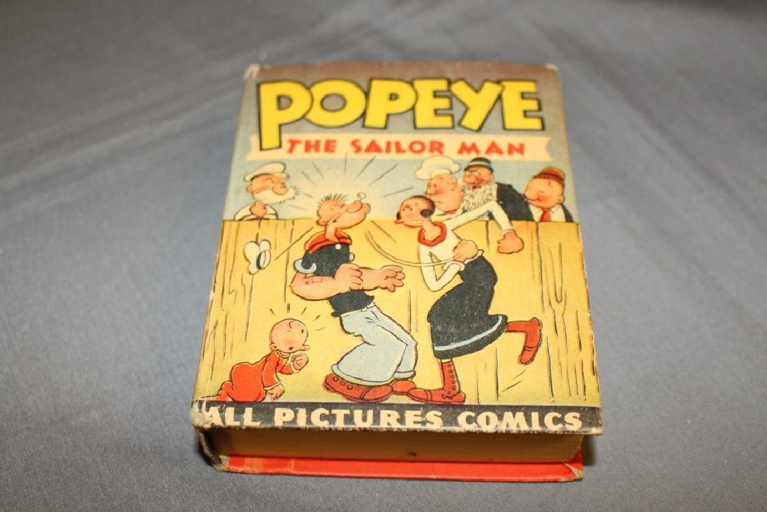 Popeye The Sailor Man, Big Little Book