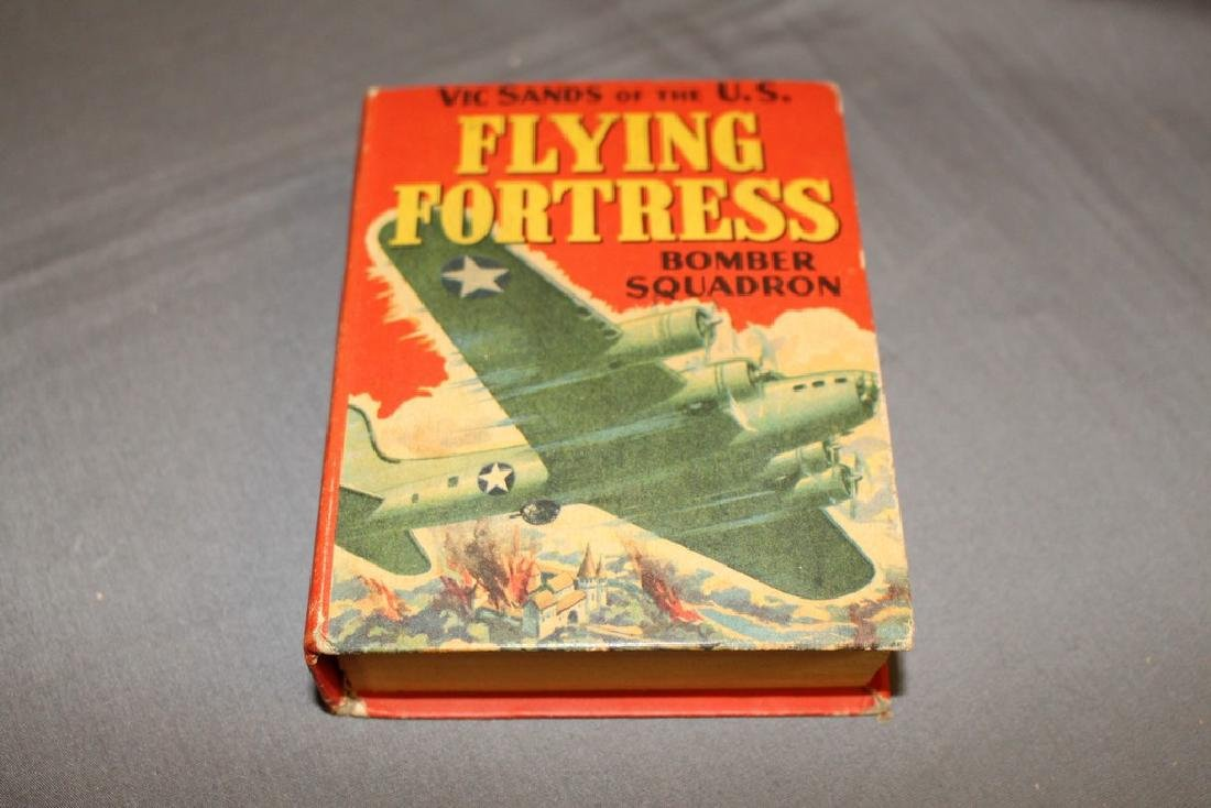 Vic Sands Flying Fortress Bomber Squadron WW2