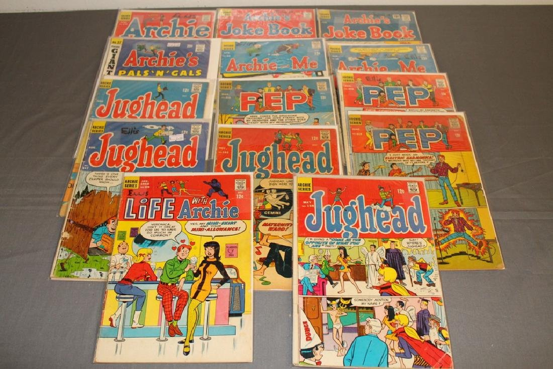 14 Silverage Archie Comics & misc. titles