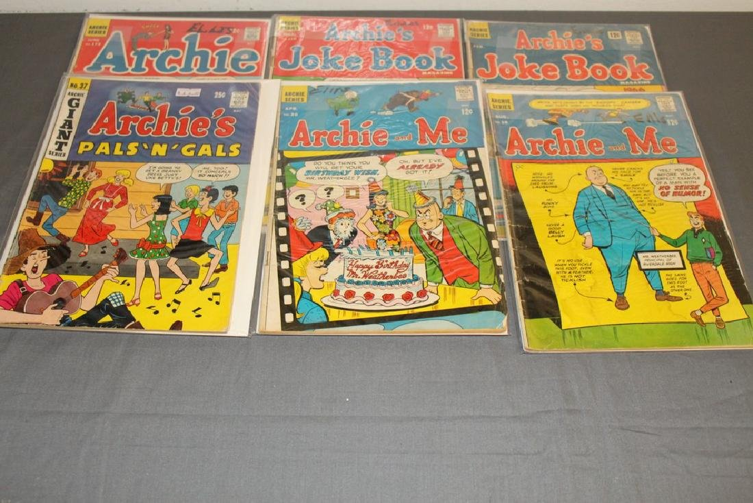 14 Silverage Archie Comics & misc. titles - 5