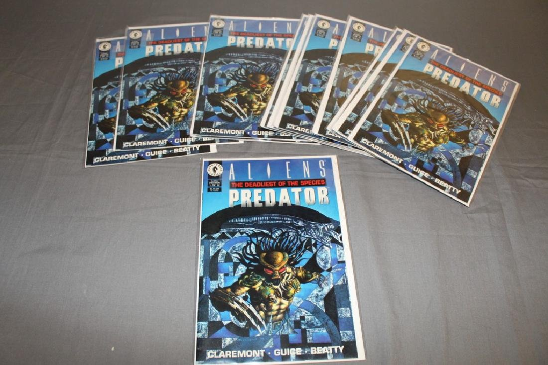 12 mint comics Aliens-Predator Deadliest of Species #1