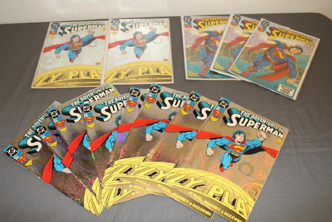 Superman comic lot