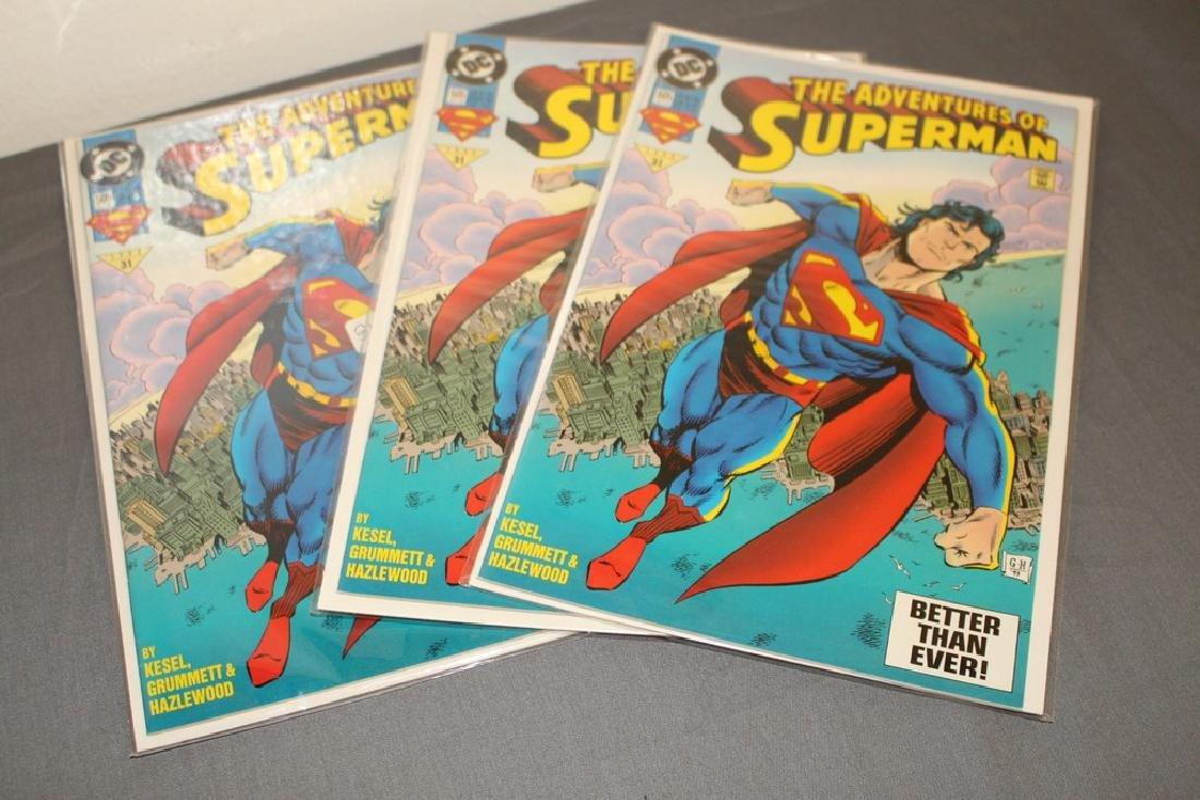 Superman comic lot - 3