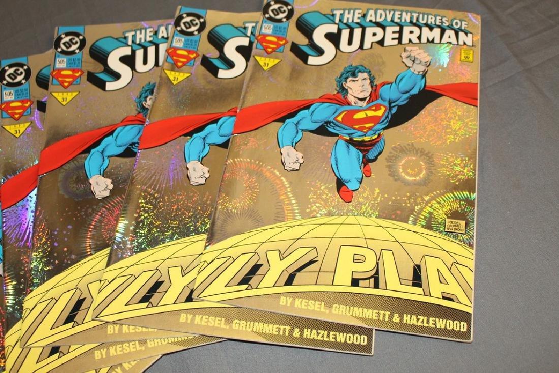 Superman comic lot - 4