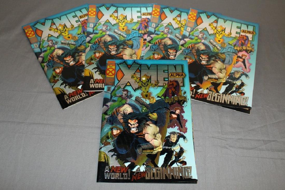 5 Mint X-Men Alpha comics