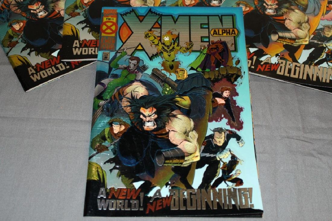 5 Mint X-Men Alpha comics - 2