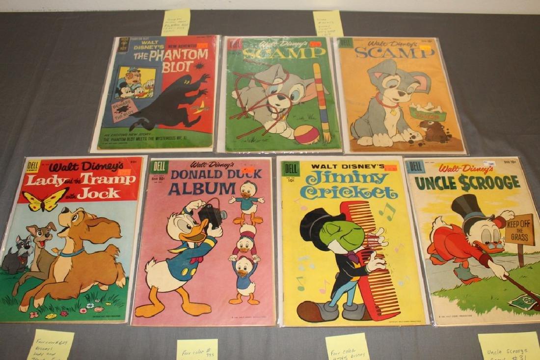 lot of 7 Disney Comics