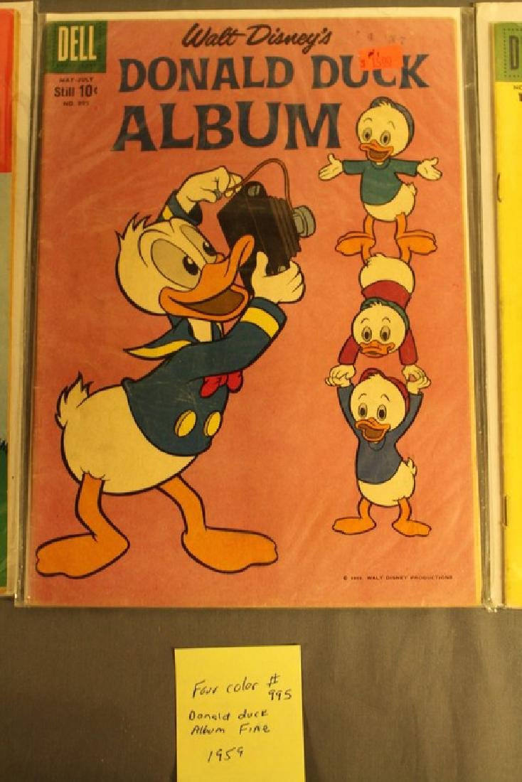 lot of 7 Disney Comics - 7