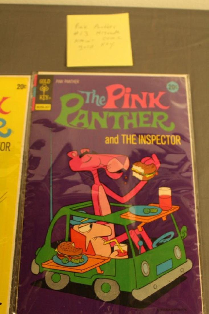 7 mint Pink Panther comics, 1970's - 4