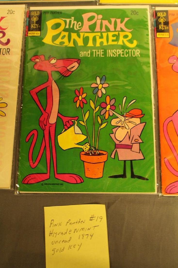 7 mint Pink Panther comics, 1970's - 6