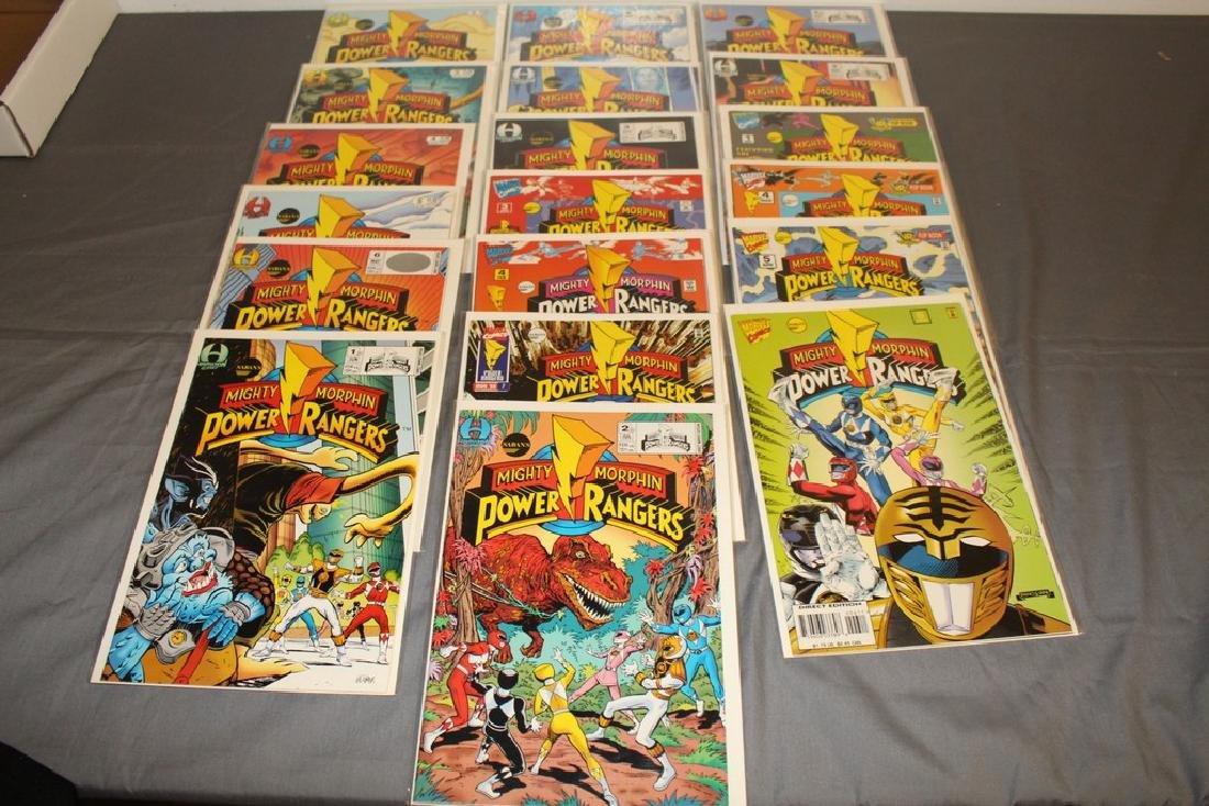19 comics, movie soon, Power Rangers