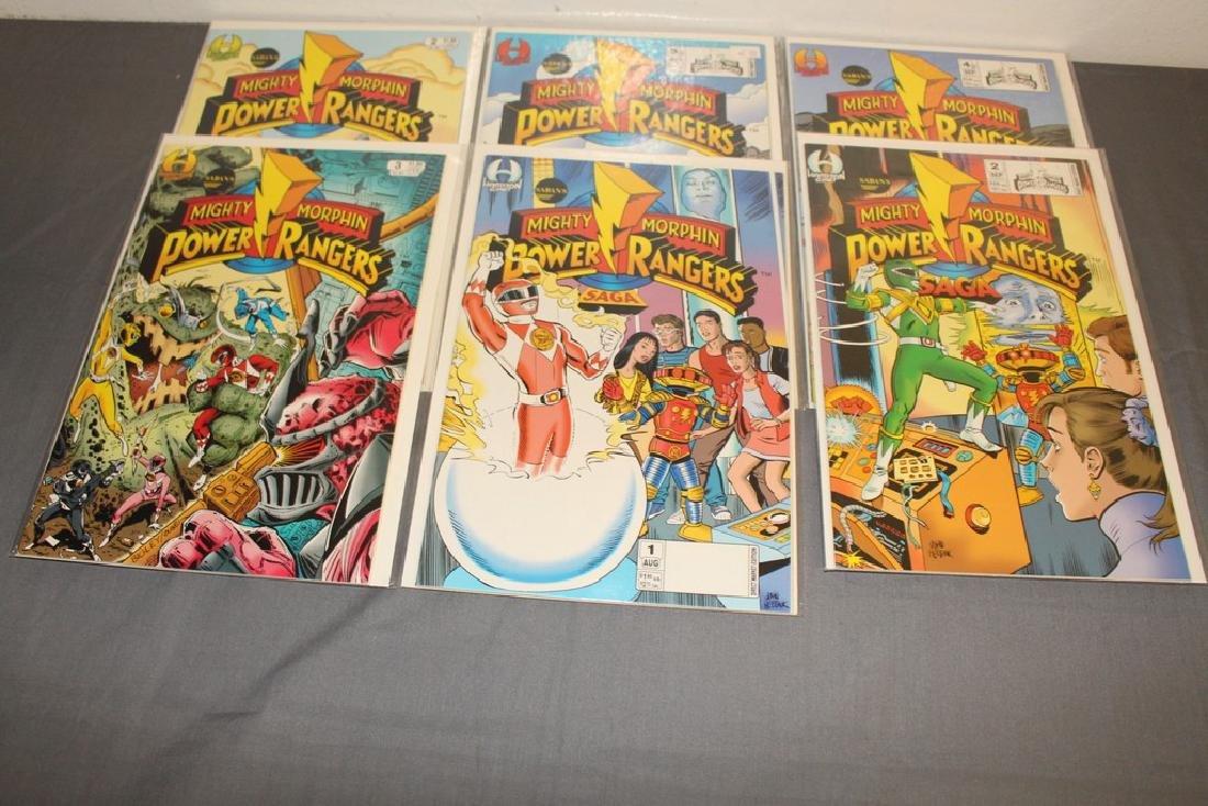 19 comics, movie soon, Power Rangers - 6
