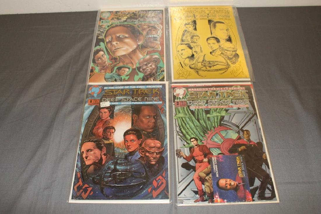 Star Trek Deep Space Nine #1 with COA, #1,2,3