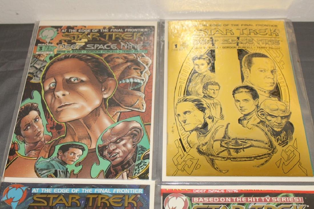 Star Trek Deep Space Nine #1 with COA, #1,2,3 - 2