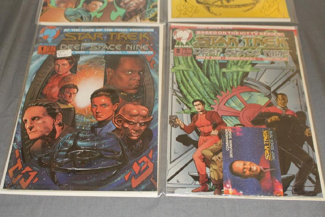 Star Trek Deep Space Nine #1 with COA, #1,2,3 - 4