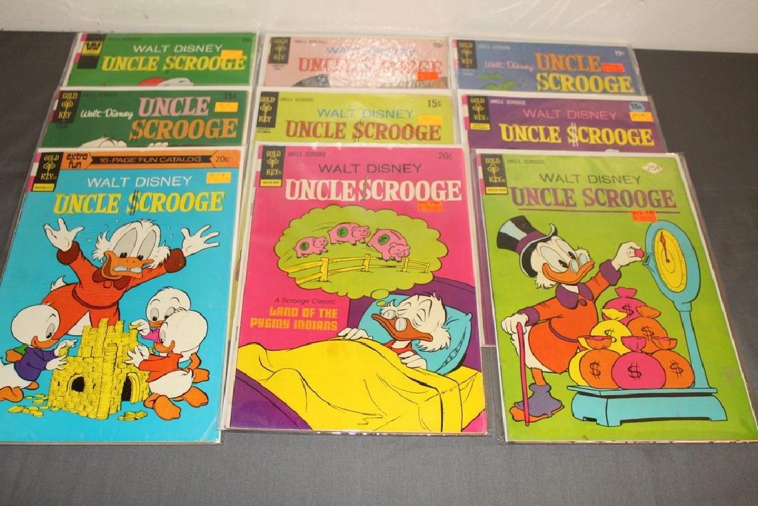 Uncle Scrooge comic lot