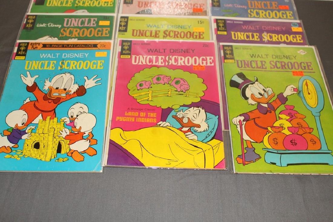 Uncle Scrooge comic lot - 2