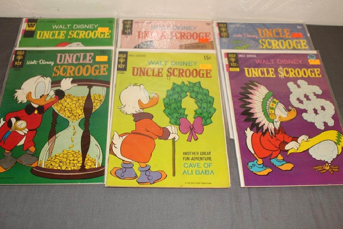Uncle Scrooge comic lot - 3