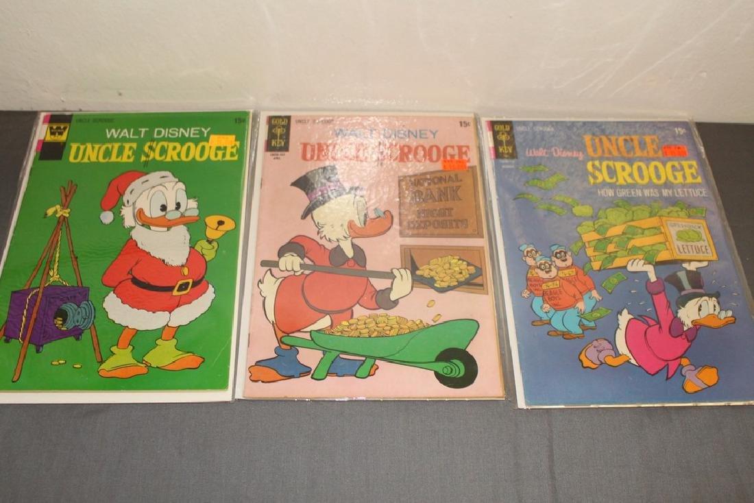 Uncle Scrooge comic lot - 4