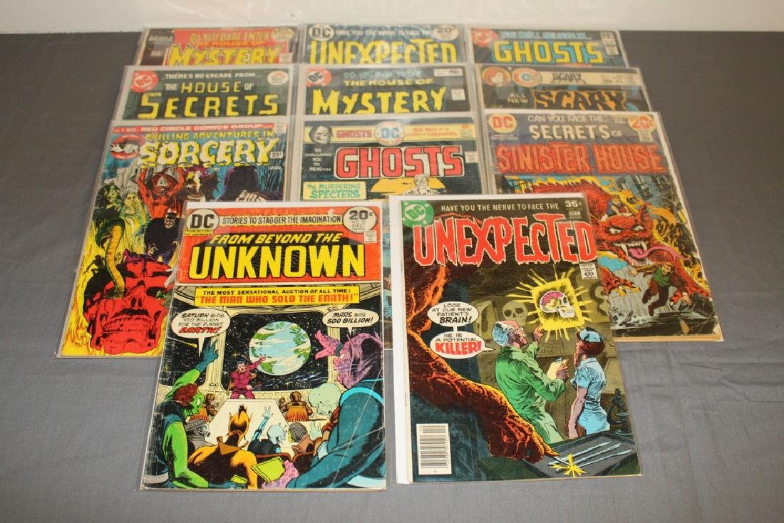 11 Horror comics Ghosts, House of Mystery