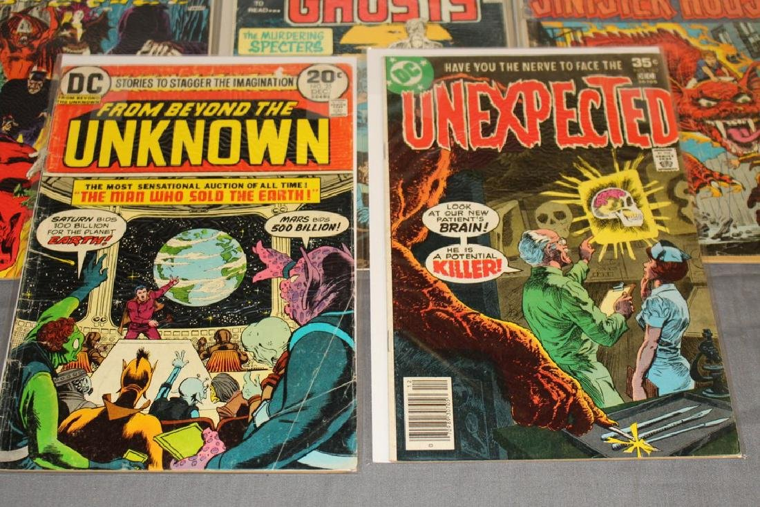 11 Horror comics Ghosts, House of Mystery - 2