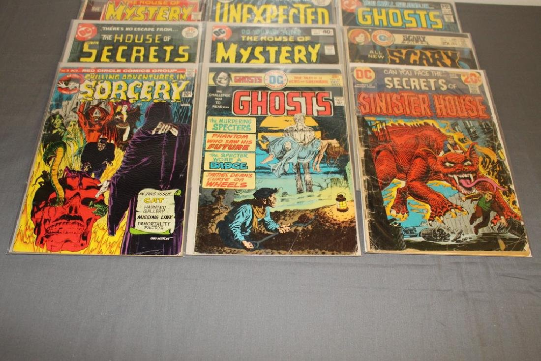 11 Horror comics Ghosts, House of Mystery - 3