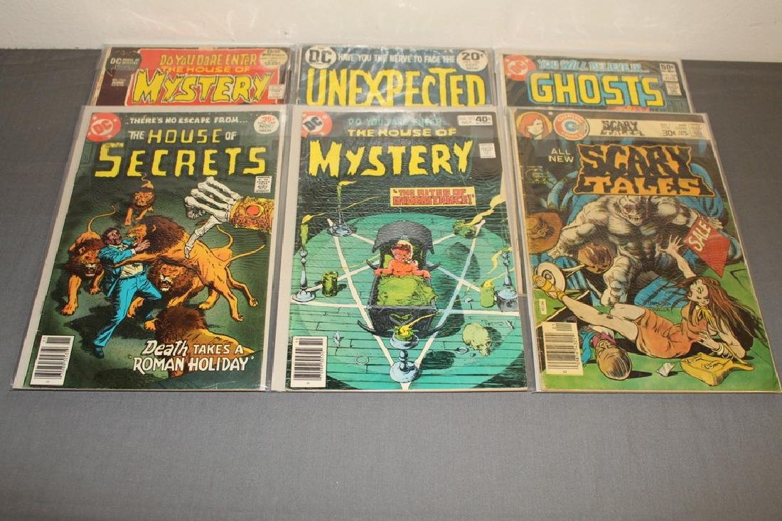 11 Horror comics Ghosts, House of Mystery - 4