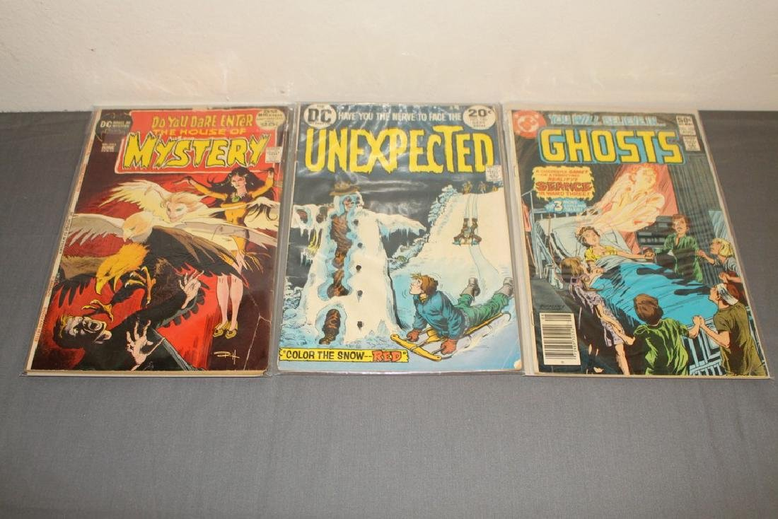 11 Horror comics Ghosts, House of Mystery - 5