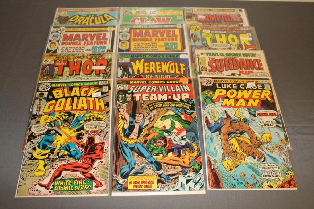 12 Issues All Marvels and DC $0.25 covers