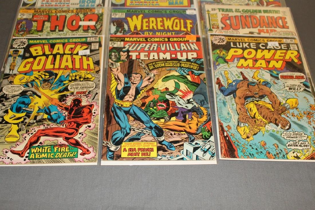 12 Issues All Marvels and DC $0.25 covers - 2