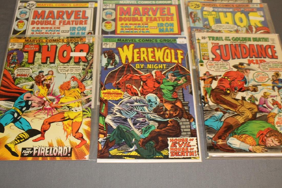 12 Issues All Marvels and DC $0.25 covers - 3