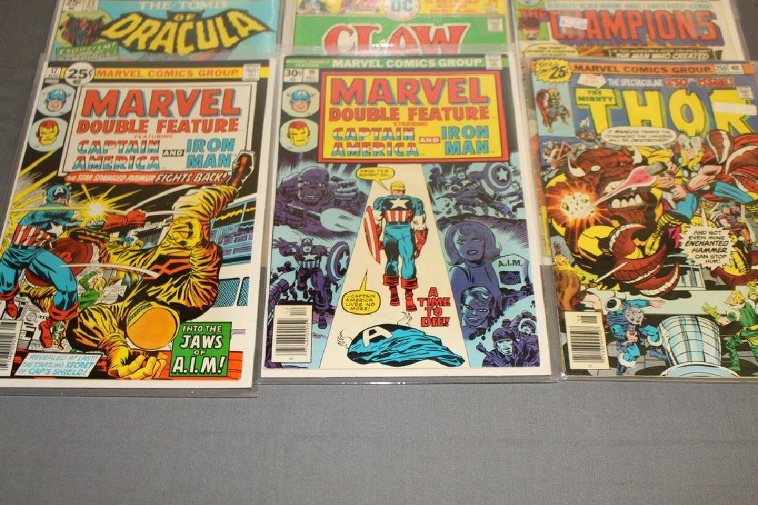 12 Issues All Marvels and DC $0.25 covers - 4