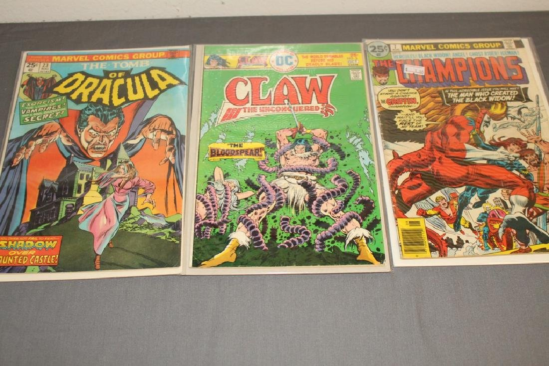 12 Issues All Marvels and DC $0.25 covers - 5