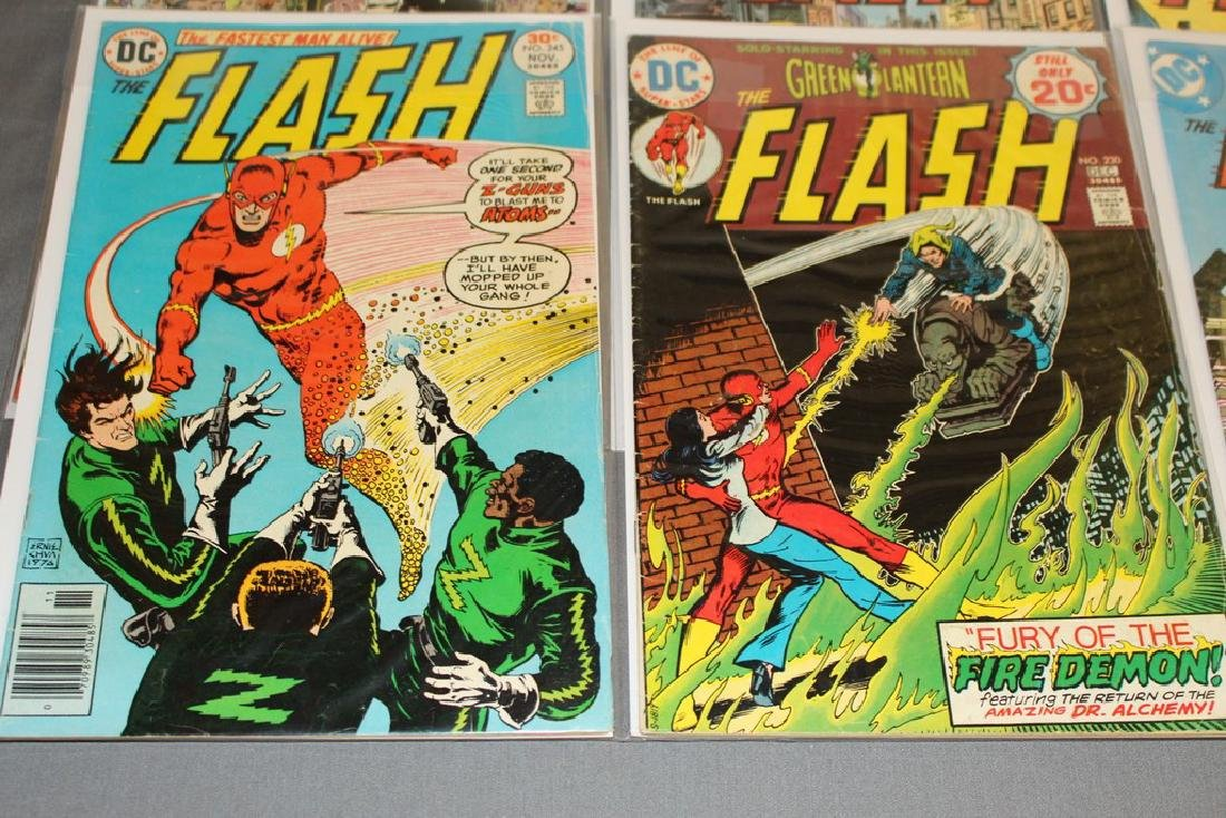 7 comics Flash comics DC - 2