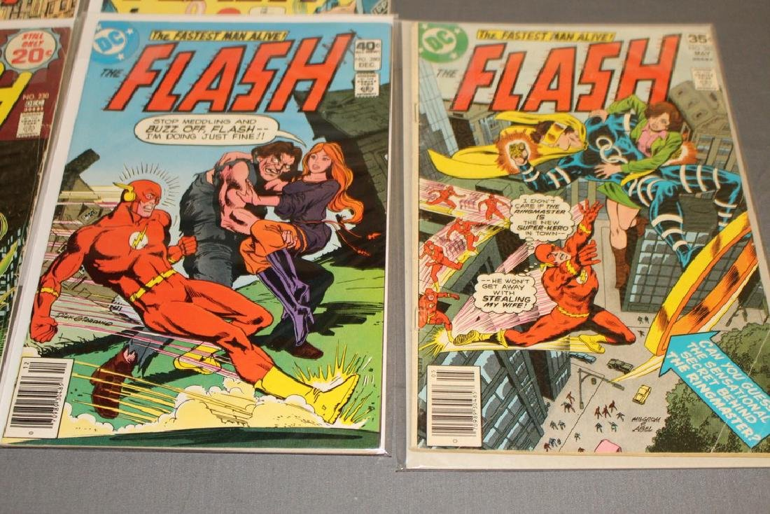 7 comics Flash comics DC - 3