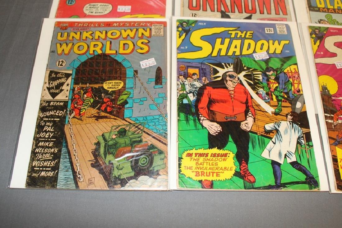 7 Silverage comics Adv. Into Unknown & others - 2
