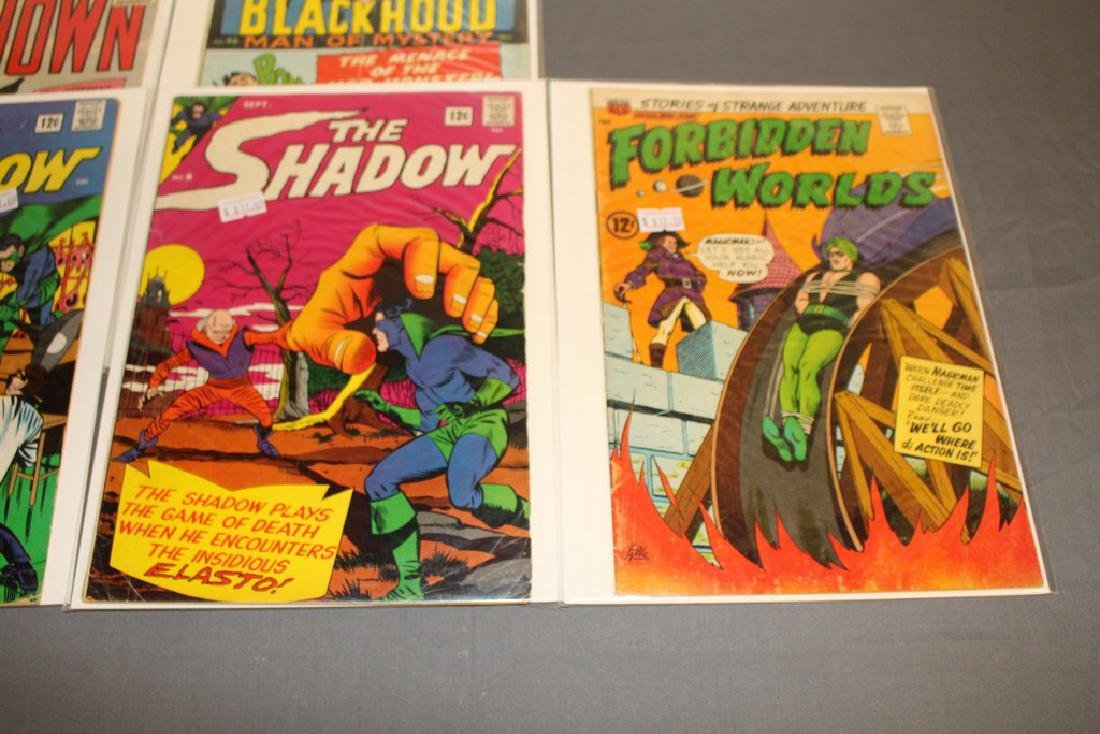 7 Silverage comics Adv. Into Unknown & others - 3