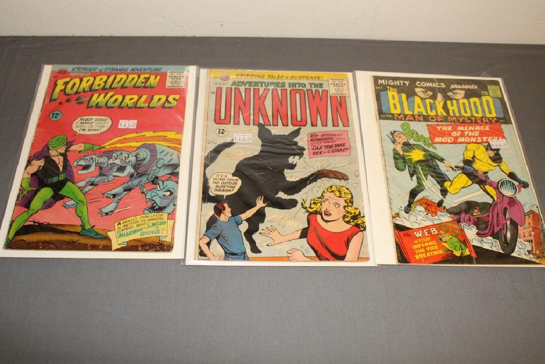 7 Silverage comics Adv. Into Unknown & others - 4