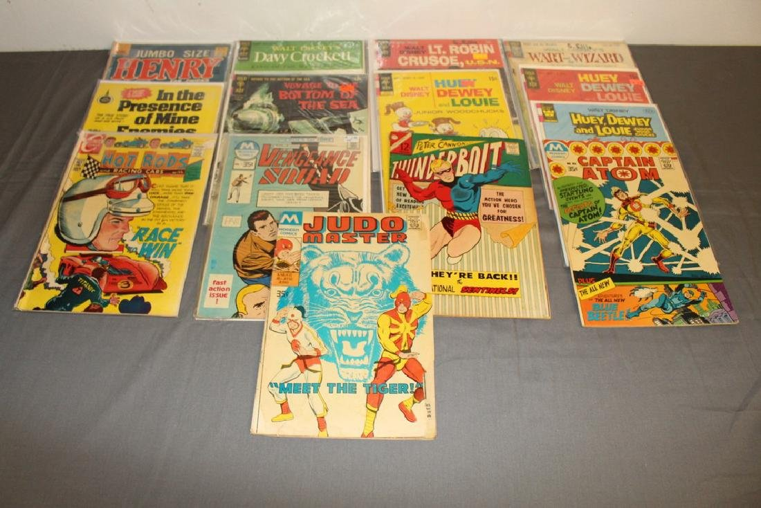 14 comics, Misc. Goldkey & other Publishers