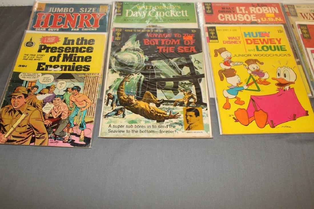 14 comics, Misc. Goldkey & other Publishers - 4