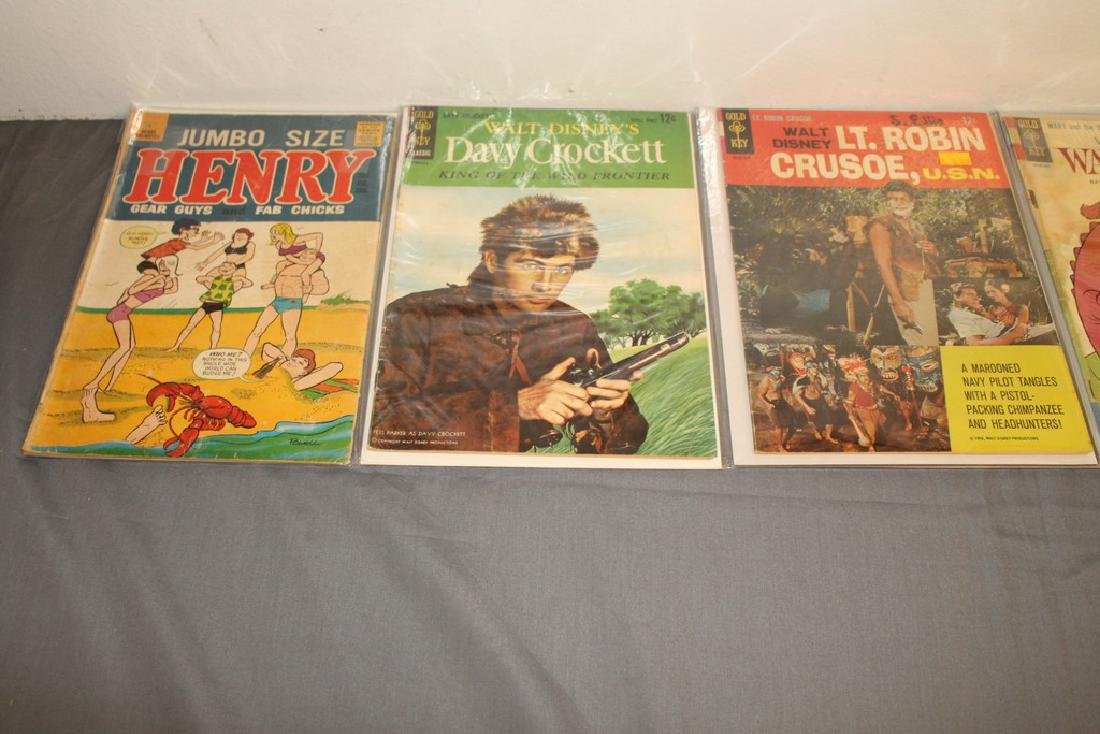 14 comics, Misc. Goldkey & other Publishers - 5