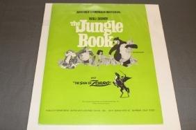 Walt Disney Advance Publicity Material