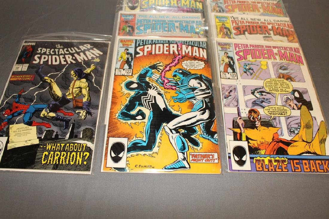 31 comics Peter Parker Spectacular Spiderman - 11