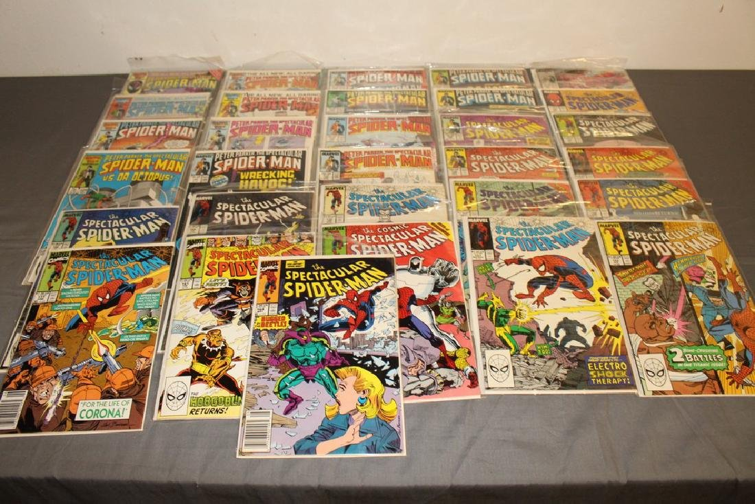 31 comics Peter Parker Spectacular Spiderman